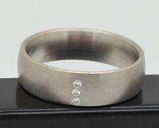 Designer-Ring mit Diamanten 0,03 Carat 585er Gold