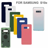 Back Battery Cover For Samsung Galaxy S10 Plus S10e S10+ Glass+Camera Lens RHN02
