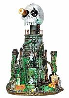 Lemax 45672 MT. GLOOM OBSERVATORY Spooky Town Building Halloween Decor New I