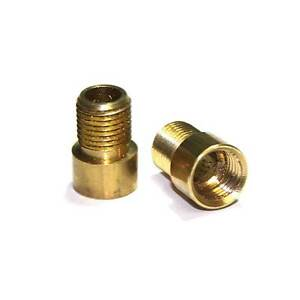 Solid Brass M10 x 1mm Pitch Female - M10 x 1mm Pitch Male Lighting Coupler Pkt 2