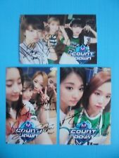TWICE Korean Pop All Member Signed 3 Photos 4x6 Autographed USA SELLER 3 SALE