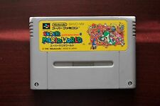 Super Famicom SFC Super Mario World Japan SNES games US Seller
