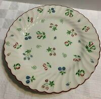 """Set of 5 Johnson Brothers SWEETBRIAR 9 3/4"""" Dinner Plates Made in England EUC"""