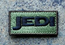 JEDI MORALE PATCH SWAT OD GREEN /STAR WARS / ZOMBIE HUNTER/RANGER 2X1 W/VELCRO®