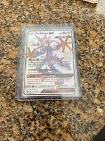 Xurkitree GX SV58/SV94 Shiny Holo Ultra Rare Full Art Pokemon Hidden Fates