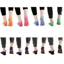 Men Women Cotton Yoga Socks Non-Slip Fitness Sport Socks Ballet Pilates Socks