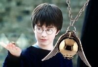 New Harry Potter Golden Snitch Necklace *Pre order*