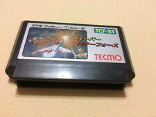 Used TECMO SUPER STAR FORCE Japanese Famicom NES FC Cartridge us seller
