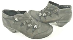 Remonte Brown Leather Ankle Booties size 7.5