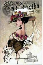 LADY MECHANIKA #2 TABLET OF DESTINIES ONLINE EDITION 500  - SIGNED JOE BENITEZ