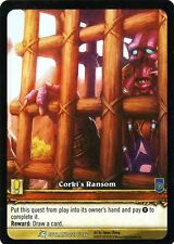 WOW TCG Corki's Ransom OUTLAND 227/246 WORLD OF WARCRAFT ENG