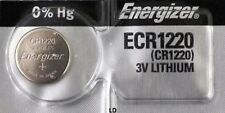Energizer ECR1220 CR1220 DL1220 Lithium 3V Battery Brand New Authorized Seller
