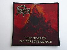 DEATH THE SOUND OF PERSEVERANCE WOVEN PATCH