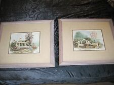 Joy Evans (Two) Signed, Framed and Double Matted Limited Edition Prints