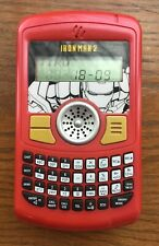 2010 Iron Man 2 Toy Organizer Phone Palm Pilot Blackberry Tested Works! Red