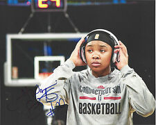 Alex Bentley Signed 8 x 10 Photo Wnba Connecticut Sun Basketball Free Shipping