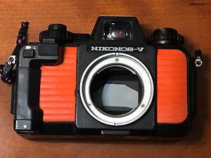 Nikonos V mit UW Nikkor 2,5/35 Unterwasserkamera