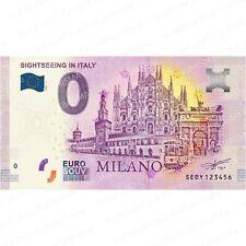 0 € ZERO EURO SOUVENIR BANCONOTA ITALIA 2020 - SIGHTSEEING IN ITALY MILANO