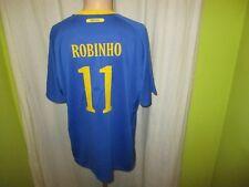 "Brasilien ""CBF"" Nr.1192 Nike Away WM Trikot Trikot 2010 + Nr.11 Robinho Gr.XL"