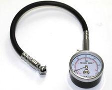 Bike-It Professional Tyre Pressure Gauge 0 - 60Psi In Case UK KART STORE