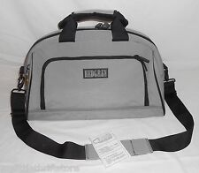 Pre-Owned Hedgren Urban Gear Xavier Kegels Grey w/Black Duffle Bag Shoulder Bag