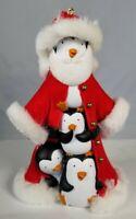 Hallmark Keepsake Christmas Ornament Tip Top Santa Penguins South  2007 NO BOX