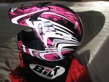 SALE REDUCED-Bilt  Womens Motocross Off Road Motorcycle Helmet sz S New