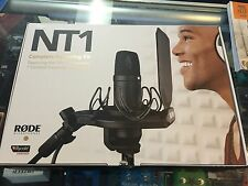 Rode NT1 Kit  Professional Studio Mic Bundle ~ Includes Shock Mount + Pop Filter