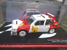 LANCIA Delta S4 Rallye Gr.B #4 Trelles Toledo 1988 Marl bro loo IXO Altaya 1:43