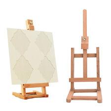 New 43cm Mini Artist wooden Folding Painting Easel Frame Adjustable Tripod MDAU