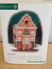 Dept 56 Alpine Village - Rathaus Neudorf (Town Hall) - Nib