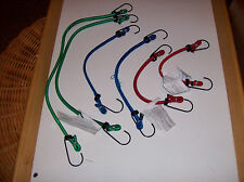 """Value-Pack 6pc Motorcycle Goldwing Bungee Cord Set 10, 12, 18"""""""
