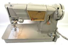 Singer 328k Sewing Machine w/ Light Manual Foot Pedal Case Tested Works