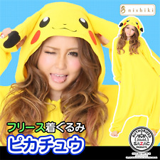 SAZAC Pokemon Pikachu Fleece Costume Adult Unisex y1-tmy022 F/S from japan NEW