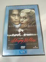 Sleepy Hollow Tim Burton Johnny Depp Christina Ricci - DVD + Extras Neuf - 2T