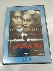 Sleepy Hollow Tim Burton Johnny Depp Christina Ricci - DVD + Extras New - 2T