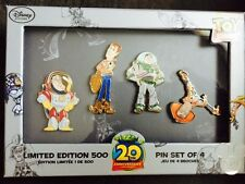 Disney D23 Expo Toy Story Buzz Lightyear Woody Concept Art LE 500 Pin Set