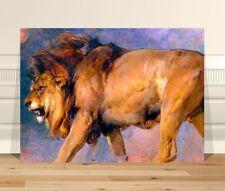 "Edwin Landseer Lion ~ FINE ART CANVAS PRINT 36x24"" Classic Victorian Animal"