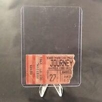 Journey Knoxville Civic Coliseum TN Concert Ticket Stub Vintage October 27 1981