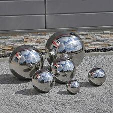 Edelstahlkugeln V2A Stahlkugeln Garten Kugeln Edelstahl Dekokugeln Hohlkugeln