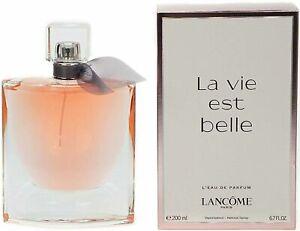 La Vie Est Belle Perfume by Lancome, 6.7 oz L'EDP Spray for Women NEW