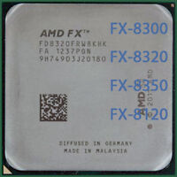 AMD FX-Series FX-8300(95W) FX-8320 FX-8350 FX-8120 Socket AM3+ CPU Processor