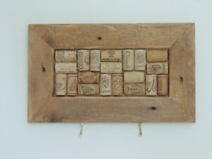 Wine Cork Notice Board - Handmade. Ideal Christmas Present