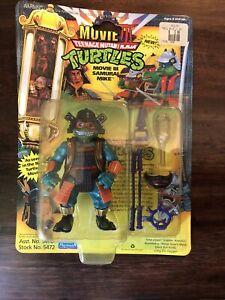 TMNT Ninja Turtles Movie III Samurai Mike 1992 Playmates Moc