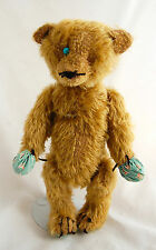 Worn Mohair Teddy Bear Artist Linda Speigel Bearly There Country Antique Style