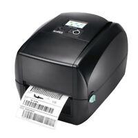 "Godex RT730i 4"" Thermal Transfer Printer, 300 dpi, USB, RS232, Ethernet"