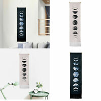 Wall Art Tapestry Wall Hanging Moon Phase Lunar Display Decoration For Home Gift