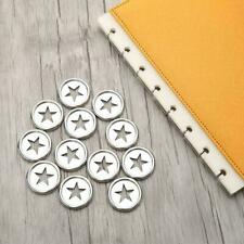 Paper card photo binding loose leaf binder rings metal holder 202 clip ring K9E8