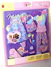 Barbie Doll Clothes Midge & Baby Happy Family Outfits #47629 Mattel 2002