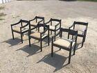 Six Carimate Chairs vico magistretti Mid Century Modern